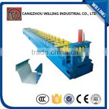 corrugated iron roofing sheet aluminum roofing step tile roll forming machine top supplier