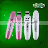 New design skin care device beauty machine charging ultrasonic skin scrubber spatula exfoliation