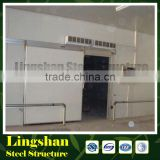 prefabricated cold storage warehouse construction project cost