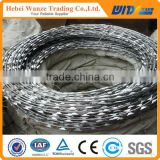 High quality concertina razor wire / razor blade wire / cross type razor wire for factory