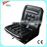 China wholesale agricultural mechanic suspension tractor seat for New Holland tractor spare parts