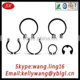 factory hot sale standard bores inner retaining rings, metal circlips for shaft made in China