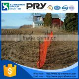 100% virgin HDPE fire retardant safety construction signal mesh/safety barrier fence/orange safety barrier netting