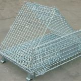 Folding Hot-dip Galvanized Wire Mesh Container