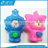 Wholesale plastic Lovely Small Face Changing Doll toy for capsule vending machine