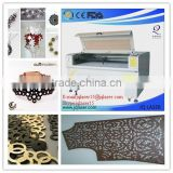 Laser Cutter for Bags/Shoes/Seat Cover/Upholstery,leather cutting machine cutting Natural Leather and Synthetic PVC PU Leather