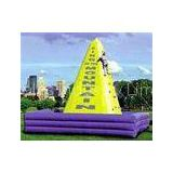 Commercial  Outdoor Chrildren Inflatable Climbing Wall with UL blower for rental business