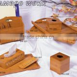 Bamboo products,wine rack,articles tray,bamboo tissue box