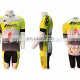 OEM Mountain bike cycling wear top quality short sleeves team cycling jersey clothing manufacturer