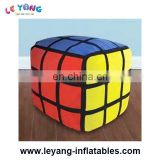 Fashionable factory direct sale outdoor advertising decoration cube inflatable balloon