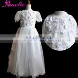 Flower Decoration Party Baby Girl Winter Wedding Dress