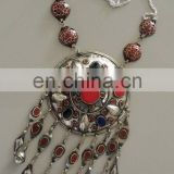 (TN-0101) Vintage Kuchi Necklace, Turkmen Necklace, Turkmen Jewellery, Kuchi Tribal Jewellery