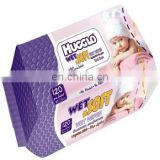 120 PCS HIGH QUALITY HUGGLO WET WIPES FROM TURKEY