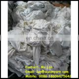 industrial usage white cotton rags wipers machine cleaning cotton rags