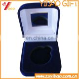 High class customized velvet gift box with mirror