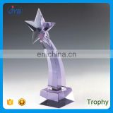 2017 best quality crystal star trophy as promotional gift item