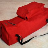 large yoga mat bag with zipper and pockets