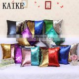 Custom baby bolster pillow sofa sequin cushion covers