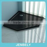 50mm Diamond Black Abs/Acrylic/stone low shower base