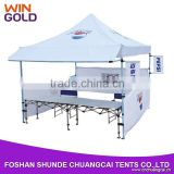 Promotional waterproof aluminum alloy Folding marquee tent tents canopy for reception 3x3                                                                         Quality Choice