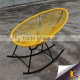 New design outdoor single chair garden furniture sofa chair leisure ways outdoor rocking chair