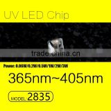 UVLED uv led diode 1w 2835 405nm with ce rohs LOW price