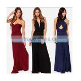 2015 Wholesale Fashion Sexy Womens Ladies Sequined Embroider Clubwear Cocktail Ball Gown Party Stretchable Wrap Dress