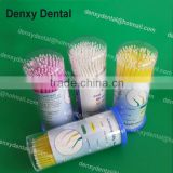 Good performance Denxy Ortho made dental orthodontic disposable dental micro applicator/ cotton micro applicator