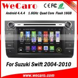 Wecaro WC-SS7668 android 4.4.4 car radio for suzuki swift car dvd gps navigation system 2004 - 2010 3G wifi playstore                                                                         Quality Choice