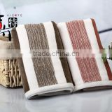 100% cotton beautiful yarn dyed face towel