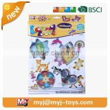 BT-0056B diy educational toys 48 Color 5mm hama Beading Kits 3d Puzzle diy toys for children