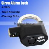 2013 Alarm Padlocks with Master Key
