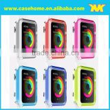 Latest desgin Soft semi-transparent TPU case for apple watch, Soild color silicone watch case