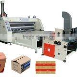 Automatic Corrugated Paperboard Multi-color Flexo Ink Printing and Slotting machine
