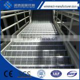 High quality steel bar steel grating,platform floor galvanized welded floor anti-slip grating, serrated design