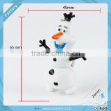 Promotional gift Frozen Snow Man Olaf Keychain Key Chains Olaf Frozen Keychain 2pcs for sets