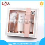 BBC lady Gift Sets Suit 013 Lovely pink 3 pcs body care paper box bath gift sets for women