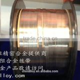 CuNi alloy strip/ Copper nickel alloy sheet/Cupro-nickel strip.