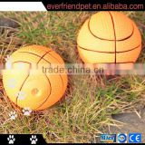 pet recycling production line-6.5CM basketball dog chew toy