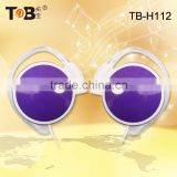 China manifacturer oem and odm headphones earphone , hot sale bling headphones purple