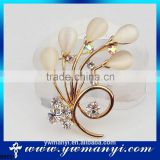 New product buy wholesale direct from china fashion jewellery rajasthan artificial brooch flower brooch wedding bouquet B0021