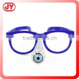 Cheap Eyeglasses toys for children plastic kids fake glasses with OPP bag