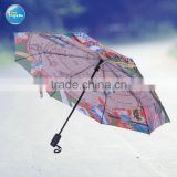 21-Inch Auto Open Promo hot sall golf rain coulorful Umbrella