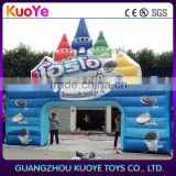 advertising inflatable for chocolate cookie, inflatables promotion,inflatable advertising welcome arch