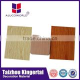 Alucoworld Cheapest good quality aluminum noise barrier panel exterior door decorative aluminium composite