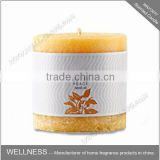wholesale paraffin wax scented bulk pillar candle