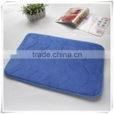 China supplier home textile perfect bathroom appliance microfiber memory foam bath mat/Memory foam bath mat_ Qinyi