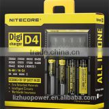 dropshipping consumer electronic hot new products for 2015 Nitecore D4 dual usb car battery charger