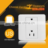 Schuko Waterproof 2 Pin European Wall Male And Female Industrial Plug And us electric plug usa outlet Socket plug-in Outlet