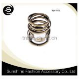 Piston ring for 2015 fashion latest design with high quality good selling jewelry design made in yiwu
